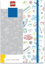 <b>Записная книжка LEGO</b>, <b>96</b> листов в линейку, с резинкой, цвет ...