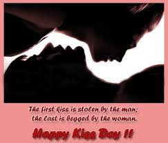 Kiss Day 2015 Quotes for Her, Him, wife, Husband, GF, BF