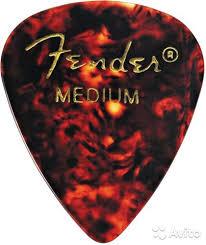 <b>Fender Classic Shell</b> (12PK) MED <b>медиаторы</b> - Хобби и отдых ...