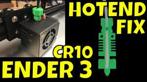 Creality Ender 3, CR-10 - Hotend PTFE Fix - YouTube
