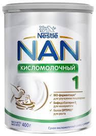 <b>Смесь NAN</b> (Nestlé) <b>Кисломолочный</b> 1 (с рождения) 400 г ...
