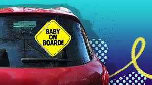 Do '<b>baby on board</b>' signs work? - ABC Everyday