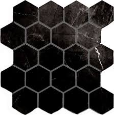 <b>Мозаика Caramelle Mosaic Marble</b> Marrone oriente полированная ...