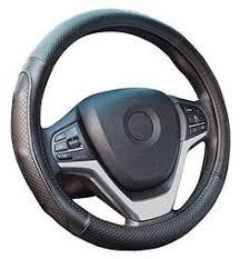 Ylife <b>Microfiber Leather Car</b> Steering Wheel Cover, Universal 15 ...