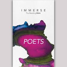 Immerse: Poets – 8 Week Plan