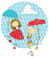 Image result for dancing in the rain clip art