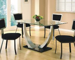 All Glass Dining Room Table Expandable Glass Dining Room Tables Cool Modern Dining Room