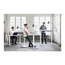 desk sitstand bekant white bekant desk sit stand screen
