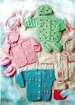 Схемы по вязанию бесплатно для новорожденных