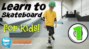 Learn How to Skateboard for <b>Kids</b> - YouTube