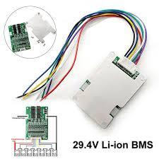 Buy Dagu New <b>7S</b> 29.4V <b>BMS</b> Protection Board with Balance for ...