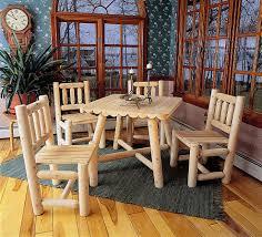 Log Dining Room Tables Modern Log Cabin Rustic Decor Modern Log Home Log Cabin Dining