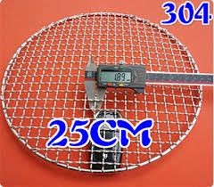 <b>round stainless steel</b> 304 barbecue net,mesh bbq grill racks ,carbon ...