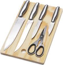 """<b>Набор ножей</b> """"Mayer&Boch"""", <b>с разделочной</b> доской, цвет: черный ..."""