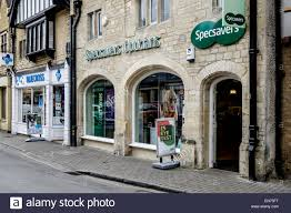 specsavers opticians shop front in shopping mall stock photo the exterior of specsavers opticians in cirencester uk specsavers are a franchised chain of optometrists