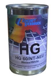 <b>HG</b> - Solvent Based Screen Printing <b>Inks</b> for Plastics