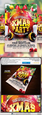 17 best images about merry christmas flyer template xmas party