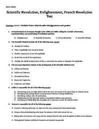 multiple choice on pinterest enlightenment amp french revolution unit test  exam  assessment
