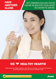 workplace heart health posters workplace ables alsco drink more water
