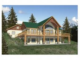 Plan H    Find Unique House Plans  Home Plans and Floor    Mountain House Plan  Rear  H