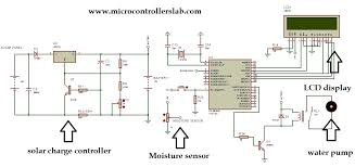 kw solar system wiring diagram images solar inverter hybrid solar power auto irrigation system using microcontroller