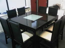person dining room table foter: square marble dining table kingkonree square granite top dining