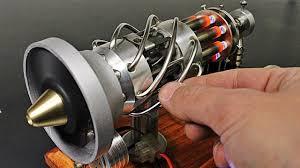 16 Cylinder Gas Powered <b>Stirling Engine</b> - YouTube