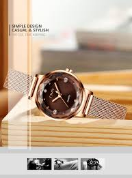 Fashion Crystal Lady Watches CIVO <b>2019 Luxury Brand Women</b> ...