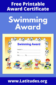 printable behavior charts for teachers students pre k award certificate for swimming primary