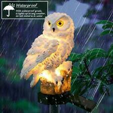 garden <b>owl solar</b> products for sale | eBay