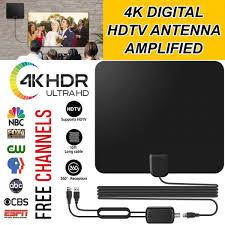 Miles <b>FREE Shipping Digital</b> HD TV Antenna SKYTV Amplified ...