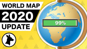 <b>World Map</b> UPDATED for 2020 (changes from 2019) - YouTube