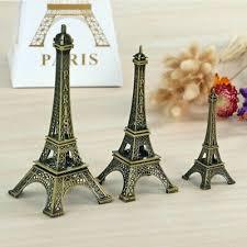 Alloy Paris Eiffel <b>Tower</b> Model Craft Figurine Statue Home Elegant ...