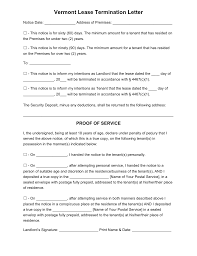 vermont lease termination letter form 60 or 90 day notice vermont lease termination letter form 60 or 90 day notice word pdf eforms fillable forms