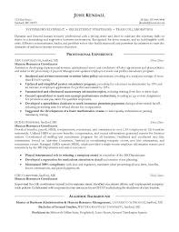 example human resources coordinator resume   free sample