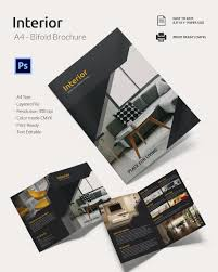 17 interior decoration brochure word psd pdf eps interior a4 bi fold brochure template