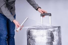 Как обмотать чемодан <b>пленкой</b>, как правильно самому ...