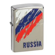 <b>ZIPPO ЗАЖИГАЛКА 207 RUSSIA FLAG</b>