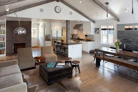 Open Kitchen Living Room The Best Open Kitchen Living Room Designs Kitchen Family Room