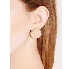 New Design <b>Fashionable</b> Simple Handmade <b>Circle Stud</b> Earrings ...