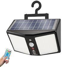<b>360LED Solar Light Wall</b> Lamps 12000mAh 6 Modes Motion Sensor ...