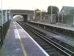 East Worthing railway station