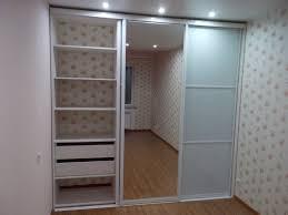 """Встроенный <b>белый шкаф-купе с зеркалом</b> """"Модель 91"""" от GILD ..."""