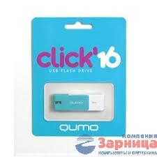 Зарница / Носитель информации USB 2.0 <b>QUMO 16GB</b> Click ...