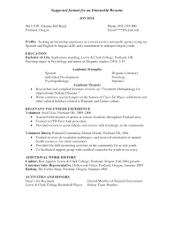 and example of social work resume