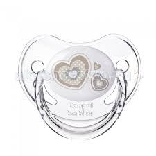 <b>Пустышка Canpol</b> круглая силиконовая 0-6 <b>Newborn baby</b> ...