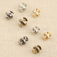 <b>10Sets Magnetic Snaps</b> Bag Press Buckles Buttons 4 Colour <b>14mm</b> ...