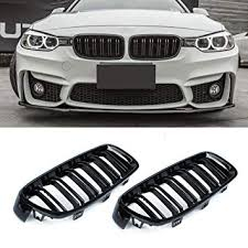 F30 Grilles, <b>1 Pair</b> Replacement Front Grills for 3 Series F30 F31 ...