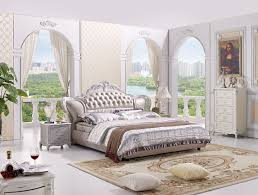 the modern designer leather soft bed large double bedroom furniture american style bedroom furniture china