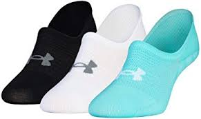Under Armour UA Essential Ultra Low Liner - 3-Pack ... - Amazon.com
